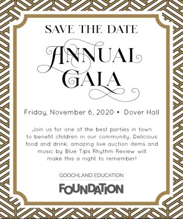 Annual Gala Nov 6, 2020